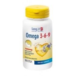 Longlife Omega 3-6-9 50 Perle per Colesterolo