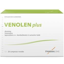 Pharma Line Venolen Plus 20 Compresse Microcircolazione