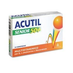 Angelini Acutil Multivitaminico Senior 50+24 Compresse