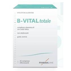 Pharma Line B-Vital Totale Arancia 2 Tubi 10 Compresse Effervescenti Integratore