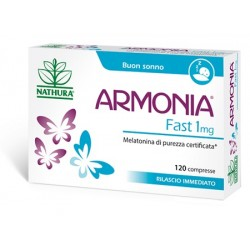 Nathura Armonia Fast 1 mg Melatonina 120 Compresse