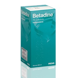 Meda Betadine Colluttorio 200 Ml 1%