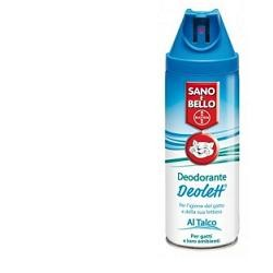 Bayer Sano E Bello Deodorante Deolett Talco 200 Ml
