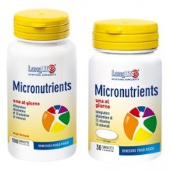 Longlife Micronutrients 30 Tavolette