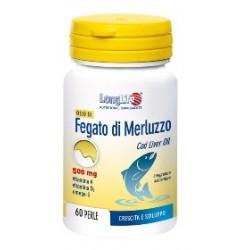 Longlife Olio Fegato Merluzzo 500 mg 60 Perle