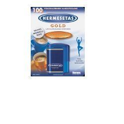 Dompe' Hermesetas Gold 300 + 100 Compresse 20 g