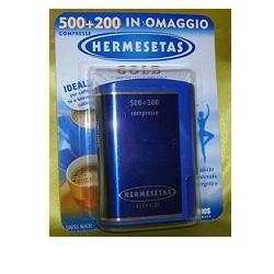 Dompe' Hermesetas Gold 500 + 200 Compresse 35 g