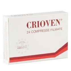 Omega Pharma Crioven 24 Compresse