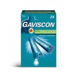 Reckitt Gaviscon 24 Bustine 500 mg/10 ml + 267 mg/10 ml