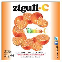 Falqui Ziguli C Arancia 40 Confetti 24 g