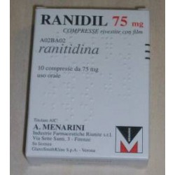 Menarini Ranidil 75 mg 10 Compresse Rivestite