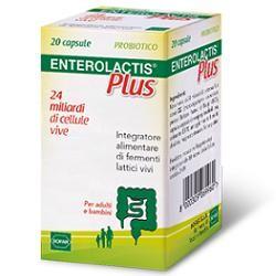 Sofar Enterolactis Plus 20 Capsule Integratore di Fermenti Lattici