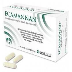 Ca. Di. Group Ecamannan 36 Capsule 500 mg per Perdita di Peso