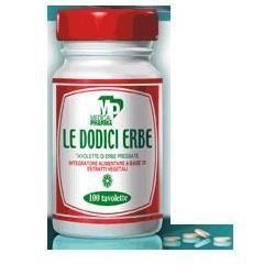 Medical Pharma Le Dodici Erbe 100 Tavolette Integratore per Digestione