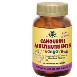 Solgar Cangurini Multinutrients Frutti Bosco 60 Compresse