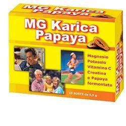 E. F. A. S. Mg Karica Papaya 10 Bustine