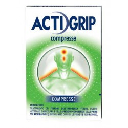 Johnson Actigrip 12 Compresse 60 mg + 2,5 mg + 300 mg