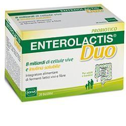 Sofar Enterolactis Duo 20 Bustine Integratore di Fermenti Lattici