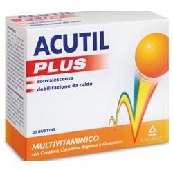 Angelini Acutil Multivitaminico Plus 20 Bustine