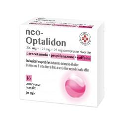 Chefaro Neo Optalidon 16 Compresse Rivestite 200 Mg + 125 Mg + 25 Mg