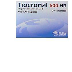 Fidia Farmaceutici Tiocronal 600 Hr 20 Compresse