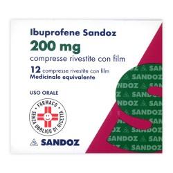 Ibuprofene 12 Compresse Rivestite 200 Mg