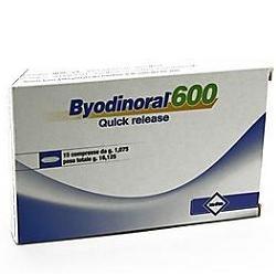 Mdm Byodinoral 600 15 Compresse