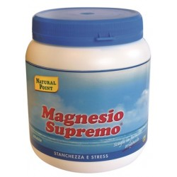 Natural Point Magnesio Supremo 300 g Integratore per Stress Fisico e Mentale