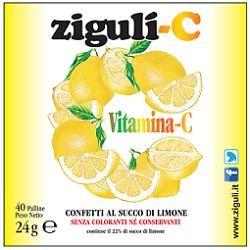 Falqui Ziguli C Limone 40 Confetti 24 g