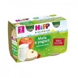 Hipp Italia Biologico Omogeneizzato Mela Yogurt 125 G 2 Pezzi