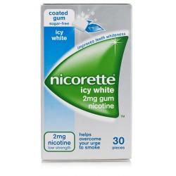 Johnson & Johnson Nicorette 30 Gomme Masticabili 2 Mg Menta Forte