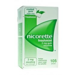 Johnson & Johnson Nicorette 105 Gomme Masticabili 2 Mg Menta Forte