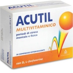 Angelini Acutil Multivitaminico 20 Compresse Effervescente