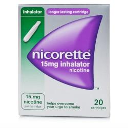 Johnson & Johnson Nicorette Soluzione Inalante 20 Flaconcini Monodose 15 Mg