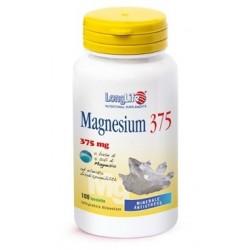 Longlife Magnesium 375 mg 100 Tavolette Integratore di Magnesio