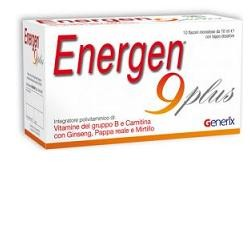 Difass Energen 9 Plus 10 Flaconcini 10 ml Stanchezza