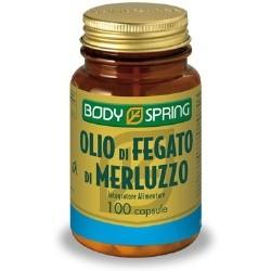 Angelini Body Spring Olio Merluzzo 100 Capsule