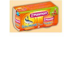 Plasmon Omogeneizzato Salmone Verdure 80 G X 2 Pezzi