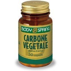 Angelini Body Spring Carbone Vegetale 50 Capsule
