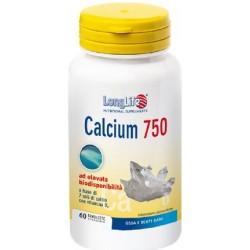 Longlife Calcium 750 Mg 60 Tavolette