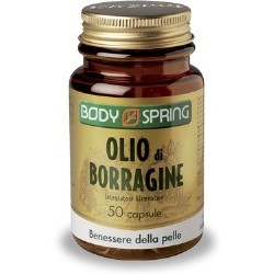 Angelini Body Spring Olio Borragine 50 Capsule