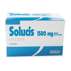 Aesculapius Solucis 20 Buste Polvere Soluzione Orale 1,5 G