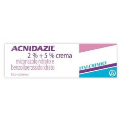 Italchimici Acnidazi Crema 30 g 600 mg + 1.500 mg