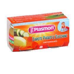 Plasmon Omogeneizzato Carota/Patata/Zucchine 80 G X 2 Pezzi