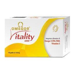 U. G. A. Nutraceuticals Omegor Vitality 30 Capsule Colesterolo