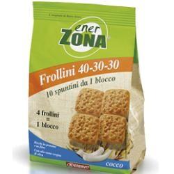Enervit Enerzona Frollini Cocco 250 Grammi