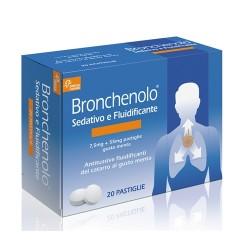 Chefaro Bronchenolo Sedativo E Fluidificante 20 Pastiglie 7,5 Mg + 55 Mg Menta