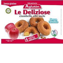 Nove Alpi Agluten Le Deliziose Ciambelline alle Mele 220g