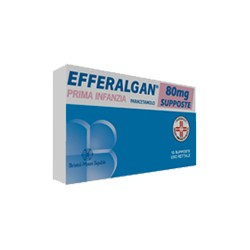 Bristol Efferalgan 10 Supposte 80 mg