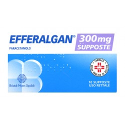 Bristol Efferalgan 10 Supposte 300 mg